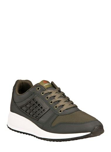 Hammer Jack Bağcıklı Spor Ayakkabı Haki